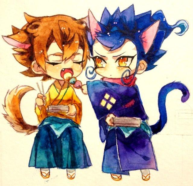 Arion y Victor Inazuma Eleven Go