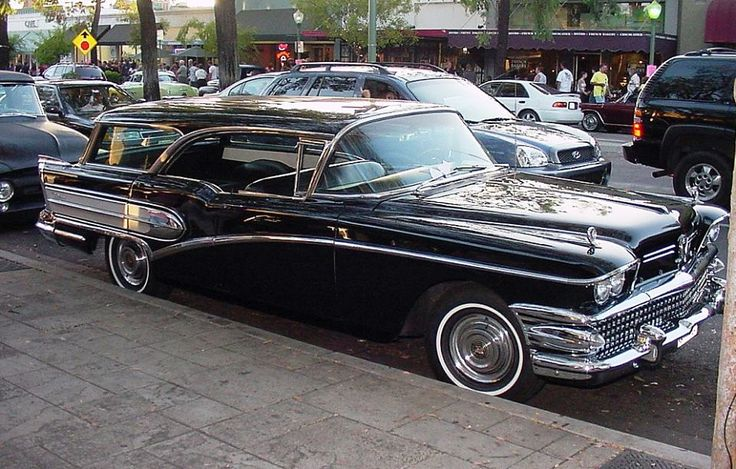 1958 Buick Caballero Old classic cars, Buick wagon