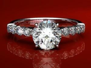 11 Best Rings Images On Pinterest Diamond Engagement Ring Diamond