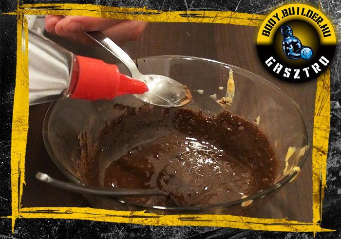 Házi nutella elkészítés - VI. lépés