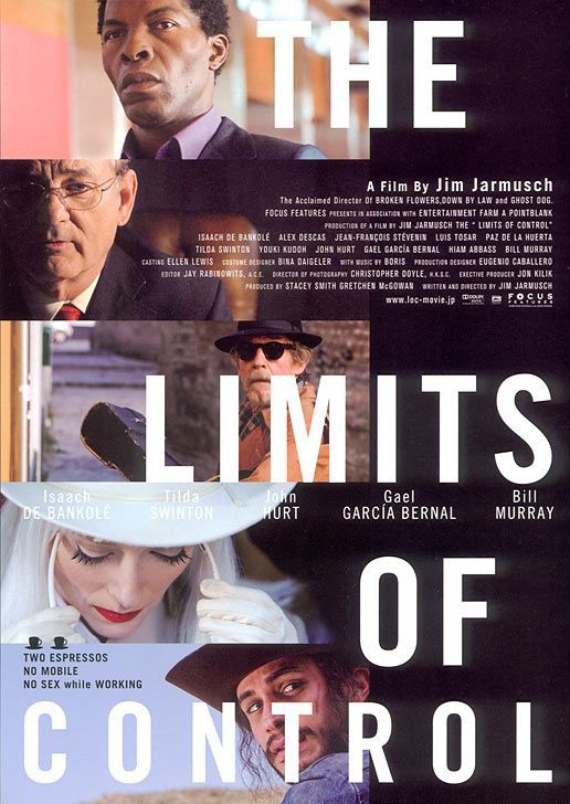 """""""The Limits of Control"""" is a 2009 American film written and directed by Jim Jarmusch."""