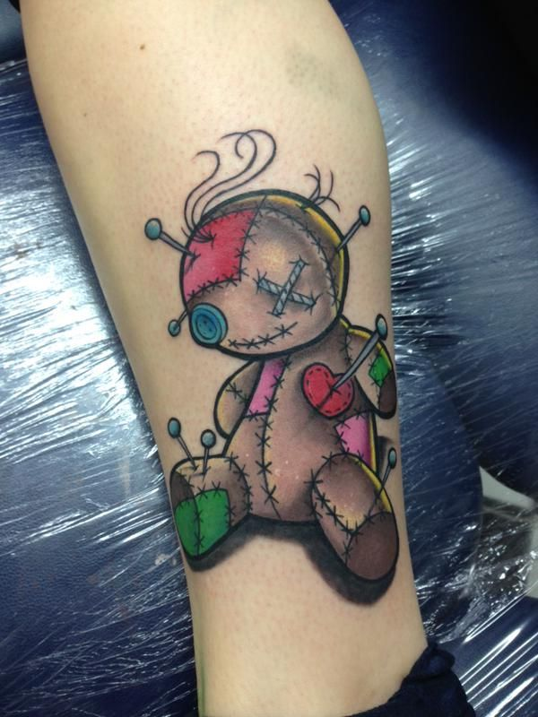 coolest looking voodoo doll drawings/tattoos - Google Search