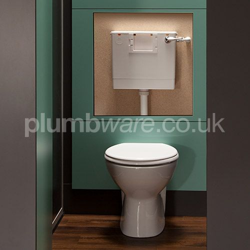 This convenient Back to Wall Toilet Pack includes: Back to Wall Pan, Concealed Toilet Cistern, Toilet Seat  Cover.
