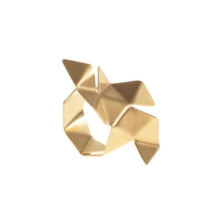 ORIGAMI / RING / GOLD malenglintborg.com