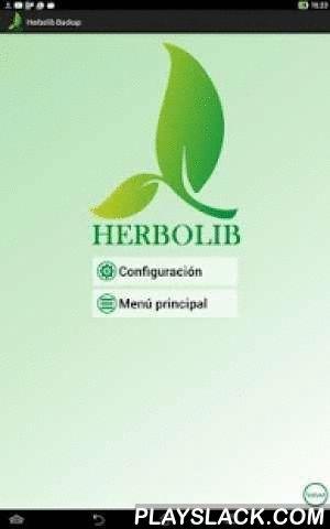 Herbolib Backup  Android App - playslack.com , **ATENCIÓN: esta APP necesita un código de acceso, solicítelo a Arminet C.B. si es cliente del Software Herbolib**APP para el programa de gestión de herbolarios Herbolib de la empresa Arminet C.B.Permite la consulta móvil de sus datos más importantes de Herbolib*-Artículos (libros y productos)-Clientes-Distribuidores¡Busque sus artículos tal y como Herbolib lo hace, o usando la cámara para escanear el código de barras!Soporte para búsquedas de…
