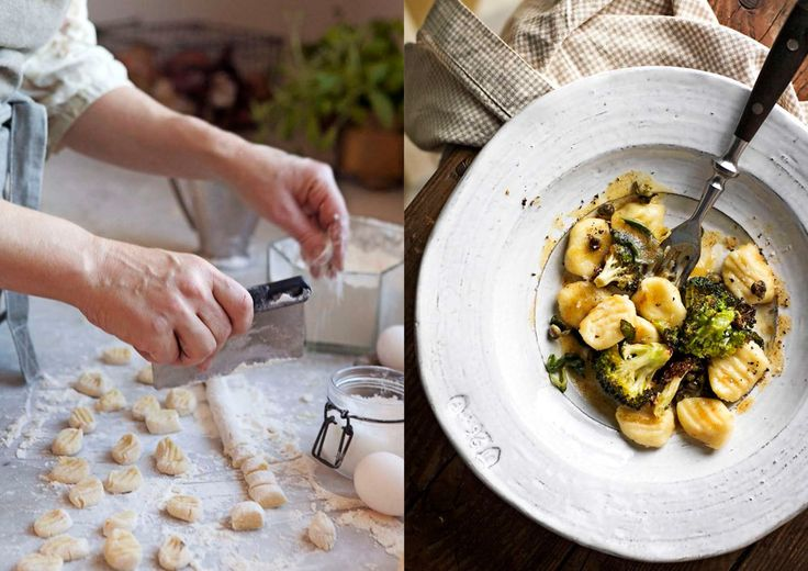 Hemgjord gnocchi gör du enkelt själv! Vi toppar vår med brynt salviasmör, underbart gott! Foto Matilda Lindeblad