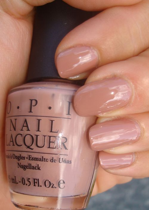 OPI Barefoot in Barcelona-wearing this now. I love this shade!  Need this for my toes!