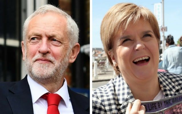 Exit polls on Thursday night prediected that neither the Conservatives nor Labour would win an outright majority - and analysis suggested both parties would struggle to form a coalition government.
