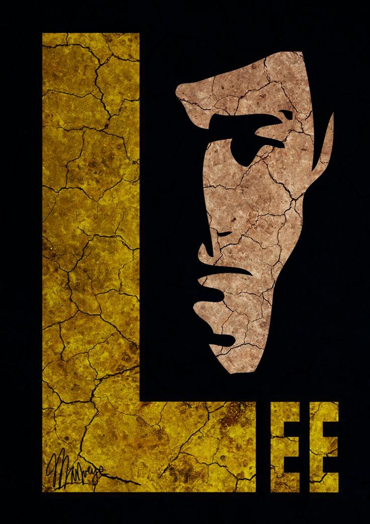 Bruce Lee poster 2012