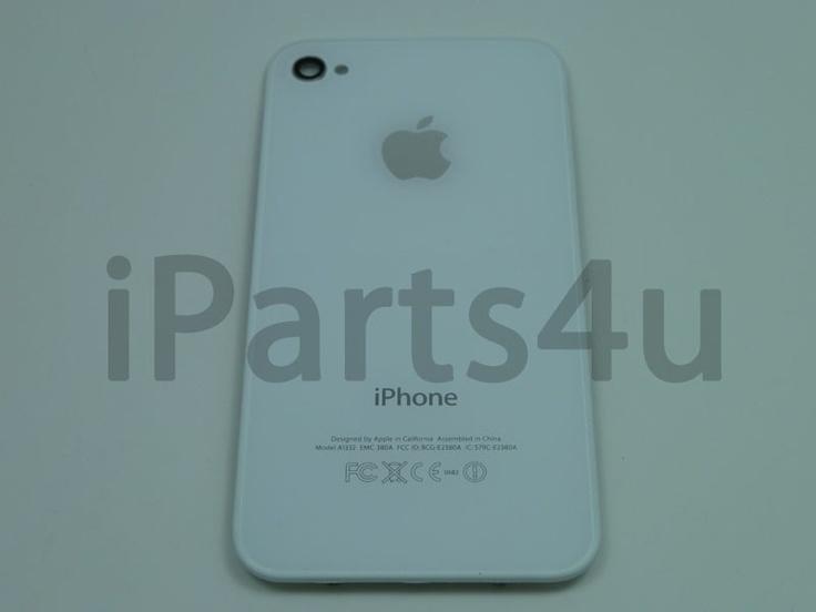 Backcover Origineel iPhone 4 Wit