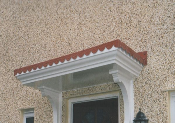 porch roof georgian - Google Search