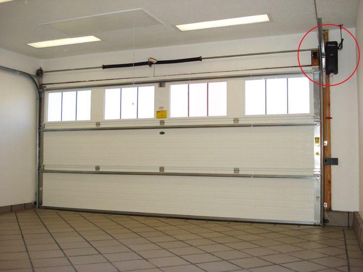 LiftMaster 8500 Residential Jackshaft Garage Door Opener Installed