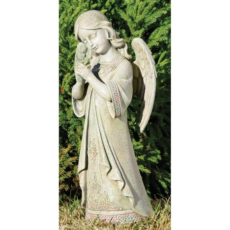Marvelous Praying Celtic Angel Garden Statue