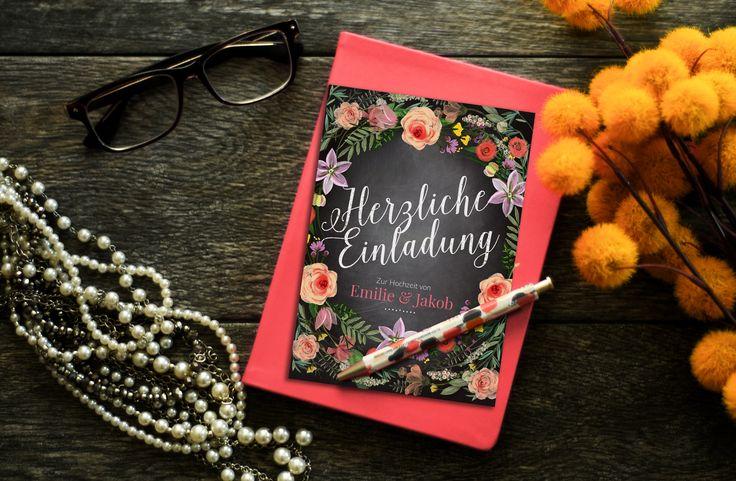Individuelle Papeterie von Hochzeitskartendesign | Hochzeitsblog - The Little Wedding Corner