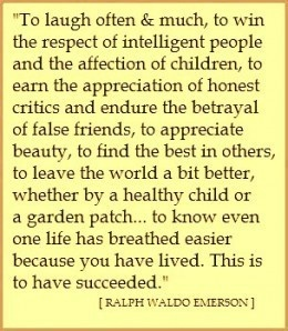 Ralph Waldo Emerson One of my favorites EVER!