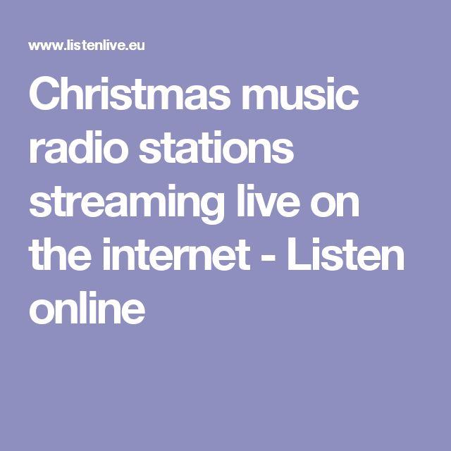 Die besten 25+ Christmas music radio Ideen auf Pinterest ...