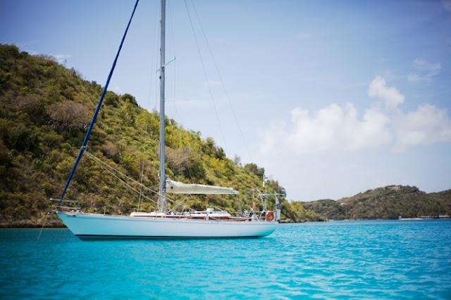 Lindo barco e linda vista!