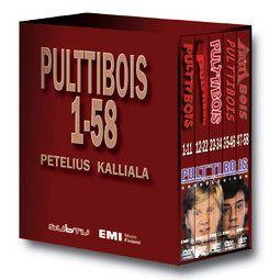 Pulttibois: Pulttibois boxi / EMI / Julkaisut