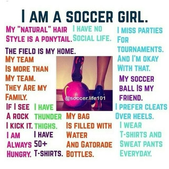 i am a soccer player quote - photo #2