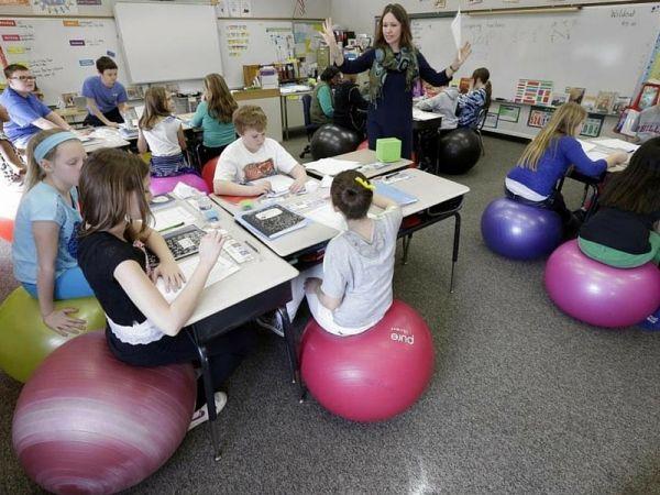 Sedute alternative per la scuola per aumentare la concentrazione