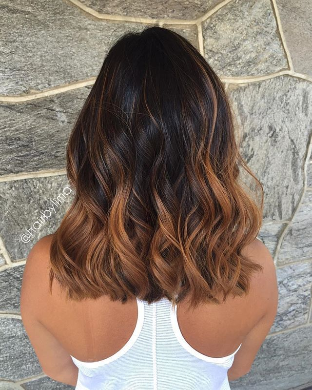 hair for the summer caramel balayage ~ by Janay