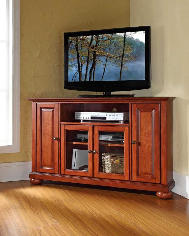modern farmhouse corner tv stand
