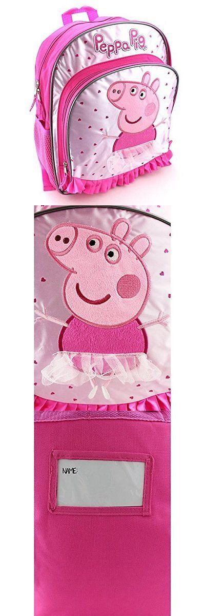 Backpacks 57917: Peppa Pig Pink 14 Inch Backpack -> BUY IT NOW ONLY: $49.09 on eBay!