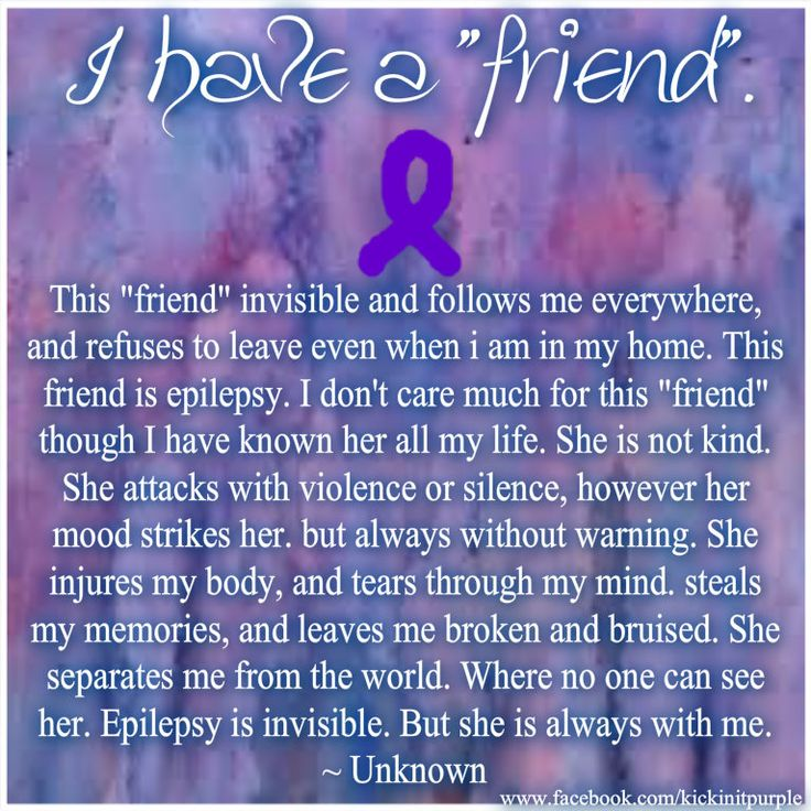 129 best images about Epilepsy quotes/pics on Pinterest ...