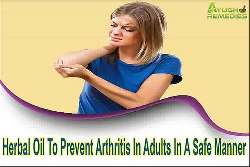 You can find more details about the herbal oil to prevent arthritis in adults at http://www.ayushremedies.com/herbal-pain-relief-oil.htm Dear friend, in this video we are going to discuss about the herbal oil to prevent arthritis in adults. Rumoxil oil is the best herbal oil to prevent arthritis problem in adults. If you liked this video, then please subscribe to our YouTube Channel to get updates of other useful health video tutorials.