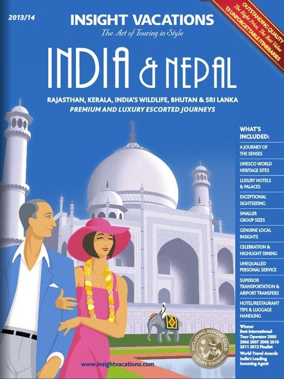 Insight Vacations - India & Nepal 2013-14 Brochure