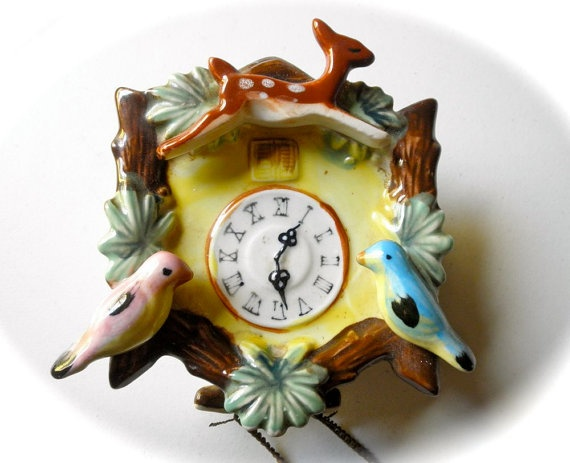 770 best pottery images on pinterest vintage pottery pottery ideas and raku pottery - Colorful cuckoo clock ...