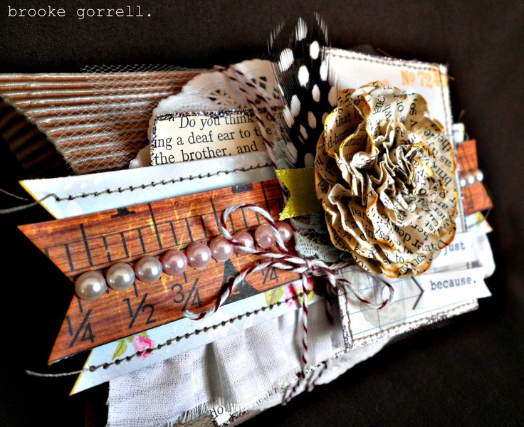Gorgeous packaging idea on our corrugated pillow box by Brooke Gorrell.