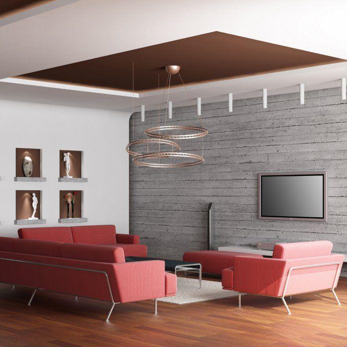 17 meilleures id es propos de faux plafond suspendu sur pinterest faux pl - Faux plafond suspendu en dalles isolantes ...