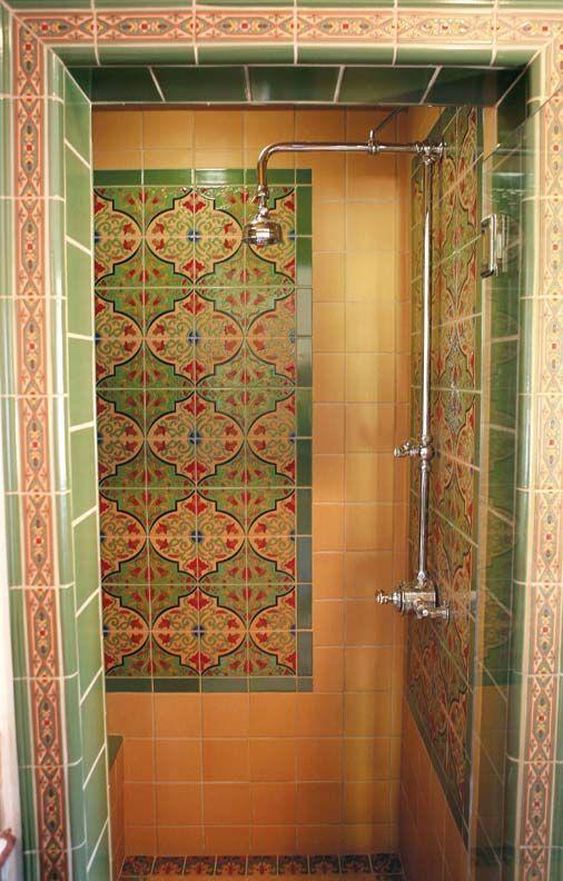 Bathroom Stall In Spanish 41 best spanish revival bath details images on pinterest | spanish