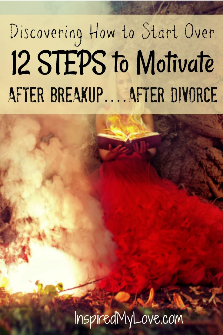 A guide to starting over, to move on and find motivation. Discover inspiration with these 12 strategies to help recover from heartbreak or to start over after divorce. Free life goals printable too! This guide isn't only for heartbreak, its too boost motivation for whatever the reason.