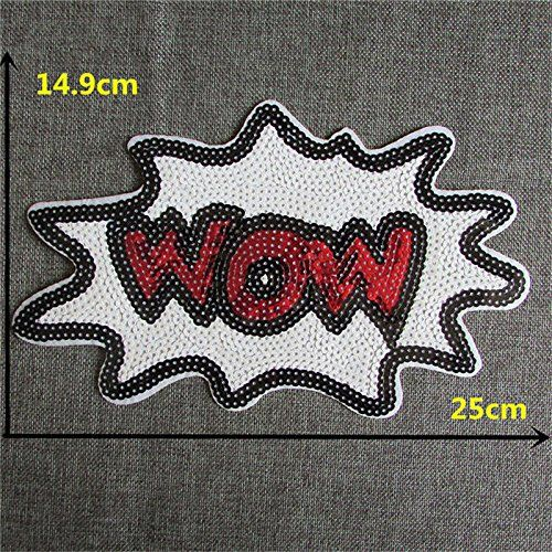 FairyTeller New Arrival 16 Kinds Different Cartoon Pattern Patch Hot Melt Adhesive Applique Embroidery Patch Diy Clothing Accessory Patch -- Click image to review more details.