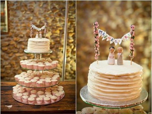 Wooden Cake Toppers | The Perfect Day 2 | The Perfect Day