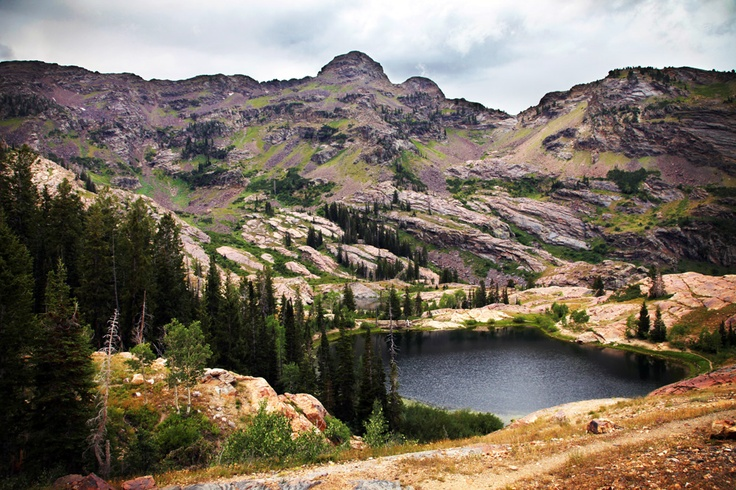 Lake Blanche. This is a pretty strenuous hike, but only about 3.5 miles each way. When you get up there it is SO serene. Great place to get away for thinking.: Lakes Blanche, Pretty Strenuous, Strenuous Hiking, 3 5 Miles