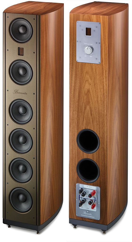 Burmester BA 71 Loudspeakers - These Ambience Speakers are the best in its class!