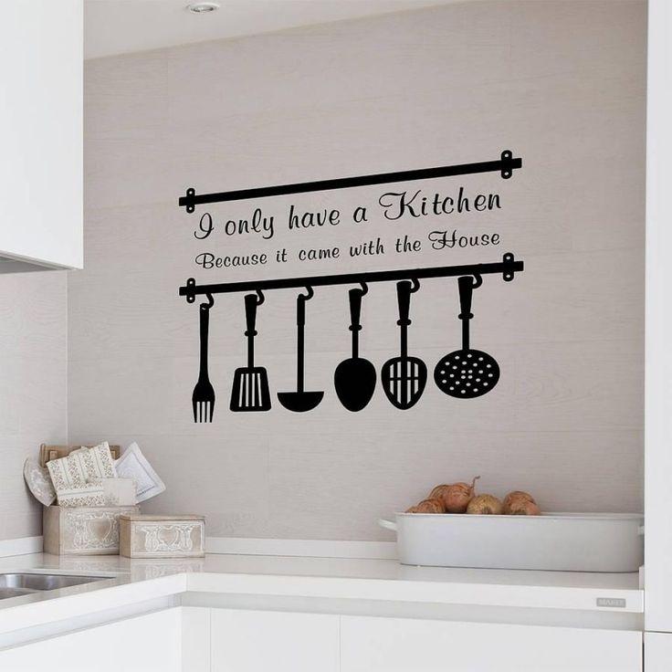Best 25 Kitchen Decals Ideas On Pinterest Wall Stickers