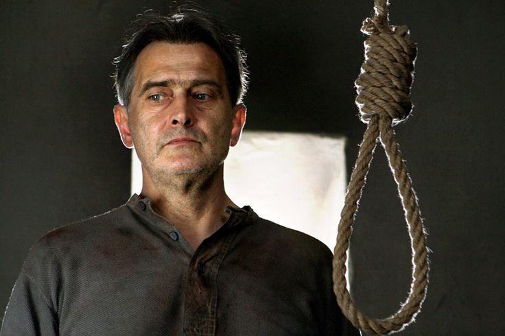"""Olgierd Łukaszewicz (1946- ) jako August Emil Fieldorf w filmie """"Generał Nil"""" (2009, reż. Ryszard Bugajski)"""