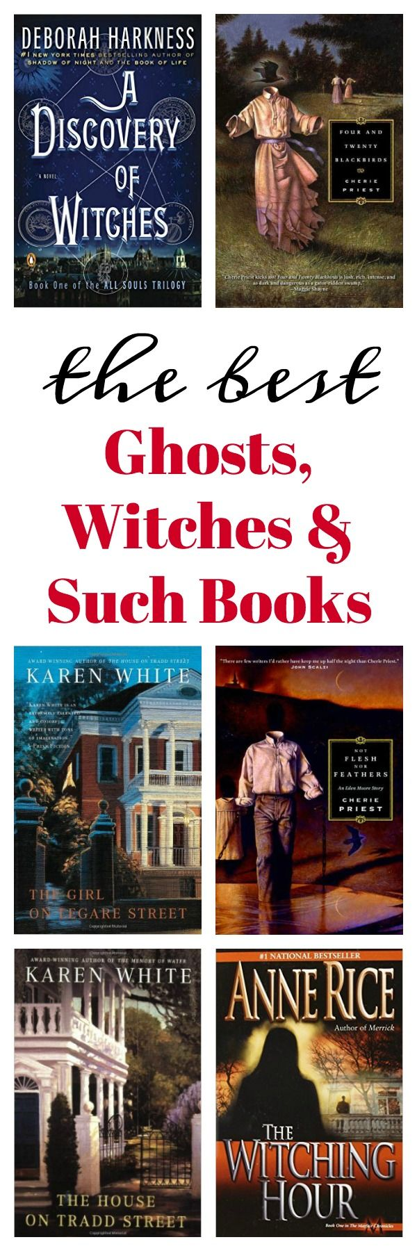 The Best Ghosts, Witches And Such Books
