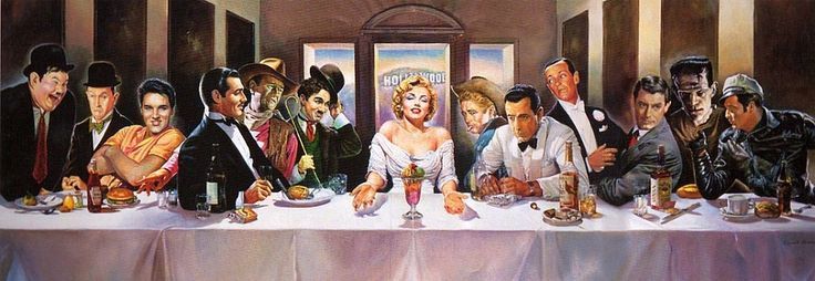 """Gag photo #ideas for """"The Last Supper of 2017"""" #dinnerparty or #farewell #party!"""