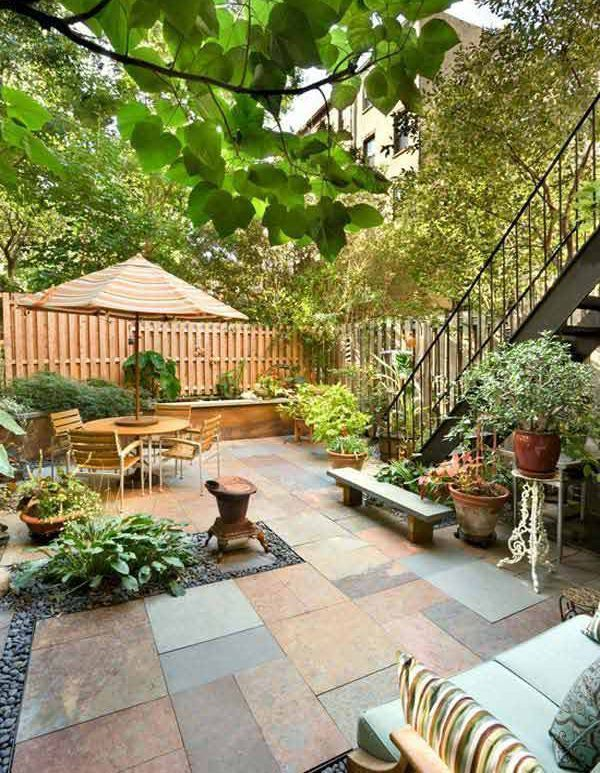 Easy And Simple Landscaping Ideas And Garden Designs Drawing Cheap Pool Landscaping Ideas For B Small Backyard Landscaping Backyard Patio Small Backyard Patio