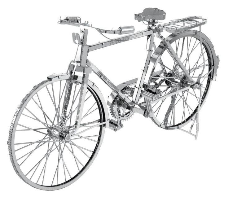 3D kovové puzzle METAL EARTH ICONX: Bicykl