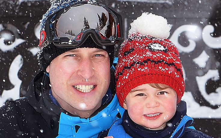 Kate Middleton and Prince William take Prince George and Princess Charlotte on their first family skiing holiday
