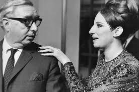 George Brown meets Barbra Streisand, 1968.