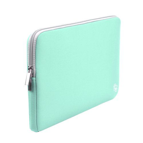 Case Star ® Neoprene Laptop Notebook Ultrabook Sleeve Case for Macbook Pro Air 11 /11.6-Inch and Other Brand 11 /11.6-Inch Laptop- HP Dell Toshiba ASUS Sony Lenovo Samsung Plus A Case Star Velvet Cellphone Bag (11 Inches-Tiffany Blue with Gray Zipper) Case Star,http://www.amazon.com/dp/B00IZ9M6KU/ref=cm_sw_r_pi_dp_MmyCtb0GBMA76VMV