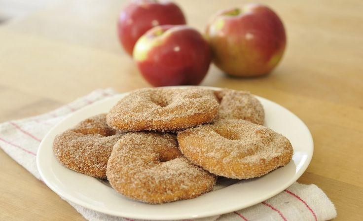 Beignets aux pommes et à la cannelle