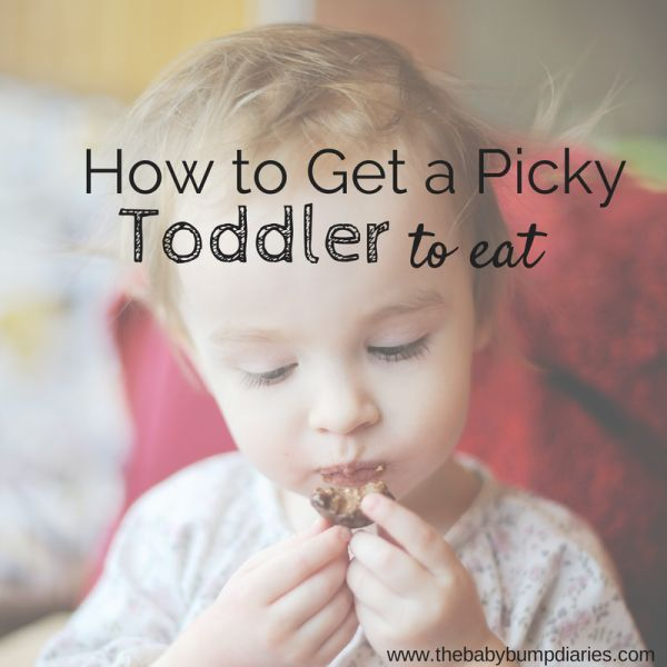 How to get a picky toddler to eat is a common question. I wouldn't describe my daughter as picky, but lately she's been flexing her NO muscles at mealtime.
